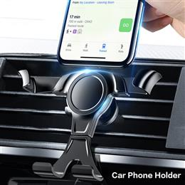 Universal Gravity Car Phone Holder For Mobile Phone