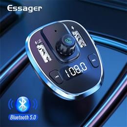 Essager USB Car Charger For Mobile Phone Handsfree