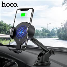 HOCO Qi wireless Car Charger Stand Automatic infrared clip Air Vent Moun...