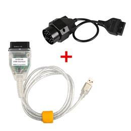 OBD2 Diagnostic Tool INPA K+CAN+20Pin Connector For BMW Series INPA DCAN Compatible