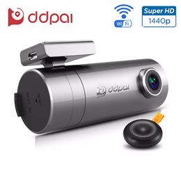 DDPai mini2 Dash Cam WiFi Car DVR 1440P Ultra HD Car Camera Rotatable Le...