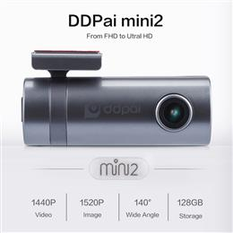 DDPai mini2 Dash Cam WiFi Car DVR 1440P Ultra HD Car Camera Rotatable Lens Recorder