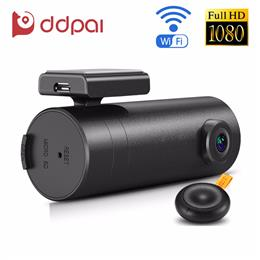 DDPai mini WiFi Car DVR 1080P FHD Night Vision Dash Cam Recorder Rotatab...