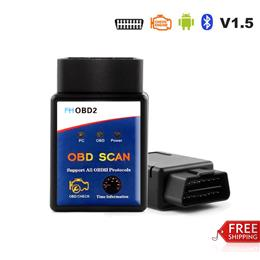 2017 New Arrival OBD2 ELM327 Bluetooth Scanner FHOBD2 Real ELM327 V1.5