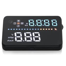 "3.5"" A3 HUD Car Head Up Display Vehicle Speeding Warning OBD2 Digital"