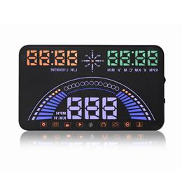 "Latest 5.8"" Car styling Car Head Up Display GPS Speedometer OBD2 Digital car speedometer HUD S7"