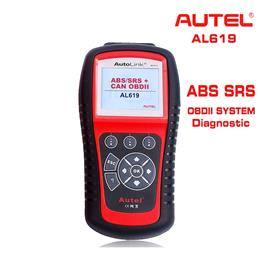 2017 Hot ABS SRS Scan Tool AUTEL Autolink AL619 OBDII Auto Diagnostic Scanner For ABS Air Bag