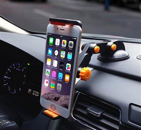 Dashboard Suction Tablet GPS Mobile Phone Car Holders Adjustable Foldable Mounts
