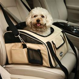 Durable Folding Pet Dog Cat Car Seat Carrier Travel Portable Single Shoulder Bag Handbag
