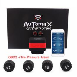 New TPMS Tool Autophix OT100 Bluetooth OBD Car Scanner Code Reader with TPMS Sensor