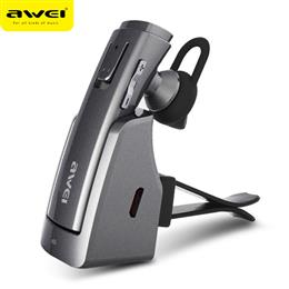 AWEI Car Bluetooth Earphone Wireless Stereo Headphones Headset Earbuds Hands Free