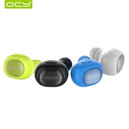 mini car calls wireless Invisible headphone bluetooth 4.1 earbud noise canceling