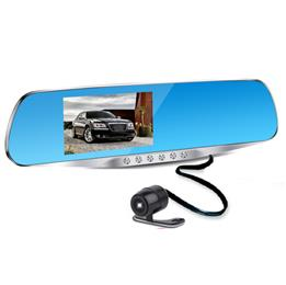 4.3inch Car Camera Mirror Full HD 1080P Car Rearview Mirror Camera Video Recorder