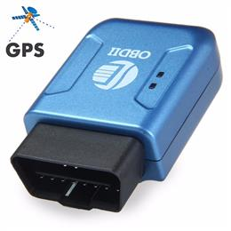 New TK206 Car GPS/GPRS Tracker OBDII Interface Geo-fence Function Autos fleet Tracking Device