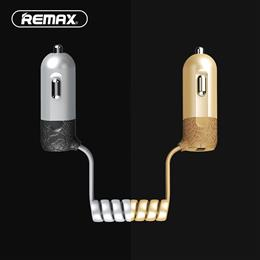 3.4A Quick Charge 3.0 USB Car Charger Remax With Micro USB Cable Adapter