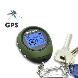 Mini GPS Receiver Navigation Tracker Handheld Location Finder Tracking with Compass