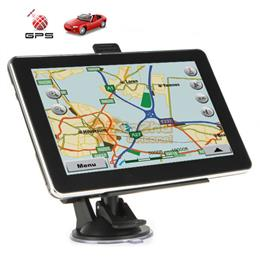 Newest HD 7 inch Car GPS Navigation with MTK 800MHZ+Windows CE 6.0+ Blue...