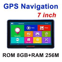7 inch Car GPS Navigation Capacitive screen FM Built in 8GB/256M