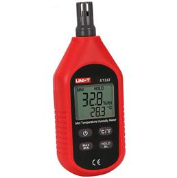 UT333 Handheld Digital C/F Thermometer Hygrometer LCD Air Temperature Humidity Meter Tester