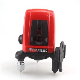 A8826D Laser Level 360 degree Self- leveling Cross Laser Level Red Lines 1V1H1D 2 Line 1 Point