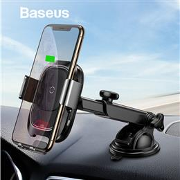 Baseus Qi Wireless Car Charger Quick Charging Dashboard Car Phone Holder...
