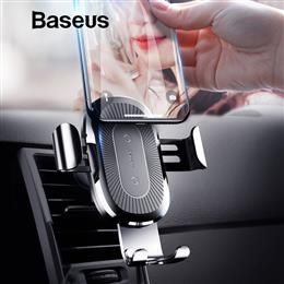 Baseus Qi Car Wireless Charger For iPhone 8 X XS Max XR Samsung Mobile Phone Charger