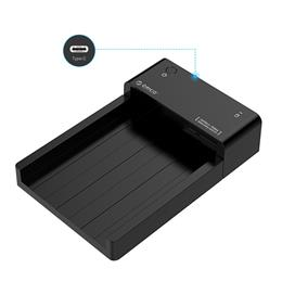 2.5 / 3.5 inch Hard Drive Dock with USB3.1 Type-C Port, 12V2A Power Adapter