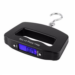 Fishing Hanging Luggage Scale 50kg/10g LCD Digital Electronic Scale Pocket Hook