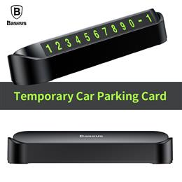 Baseus Car Parking Card Telephone Number Card