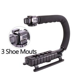 Handle Grip Camera Gears Phone Steadicam stabilizer Rig for Vlogging/ Video Blog