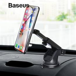 Baseus Telescopic Car Phone Holder For iPhone XS X Car Windshield Dashboard