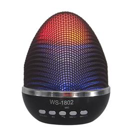 Bluetooth Speaker Portable Wireless Mini LED Speakers MP3 Player Mini SD FM function LED Easter Egg