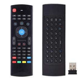 Portable 2.4G Wireless Remote Control Keyboard Controller Air Mouse for Smart TV Android TV box mini PC HTPC