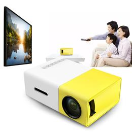 LCD Projector Mini Portable 3.5mm Audio 400-600LM LED lamp 320 x 240 Pixels Media Player