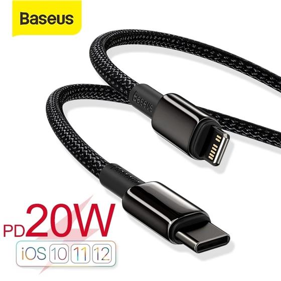 Baseus USB C Cable for iPhone 11 8 XR PD 20W/18W Fast Charge