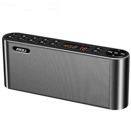 HIFI Bluetooth Speaker LCD Screen Soundbar Wireless Heavy Bass Loudspeaker with Mic TF FM Radio USB for Mobile Phone PC