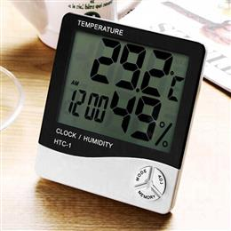 Digital LCD Weather Station Temperature Thermometer Hygrometer Electronic Humidity Meter Indoor Outdoor Tester