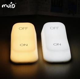 Creative Muid on-off Touch Switch Lamp USB Charging LED adjustable brightness Night Light