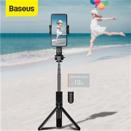 Baseus Bluetooth Selfie Stick for iPhone IOS Android Mini Camera Video T...