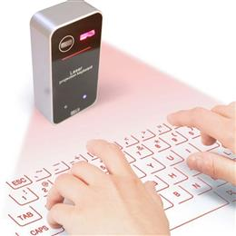 New Bluetooth Laser Projection Keyboard Virtual Keyboard for Smartphone PC Tablet English QWERTY keyboard
