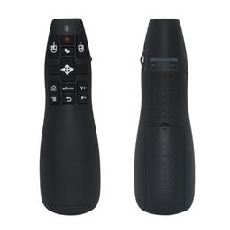 2.4G Wireless Laser Pointer Presenter with Air Mouse Remote Control for ...