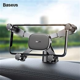 Baseus Gravity Car Phone Holder Horizontal View for iPhone Samsung Mount...