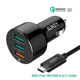 Car Charger,Quick Charge 3.0 Car-Charger Fast Mobile Phone USB Charger