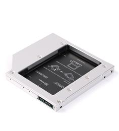 Laptop Aluminum SATA 3.0 Hard Drive Mount or SSD Caddy Tray for 12.7mm CD/DVD-ROM