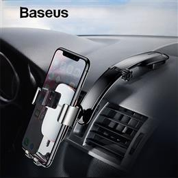 Baseus Metal Car Phone Mount Holder Dashboard Paste Car Holder Stand