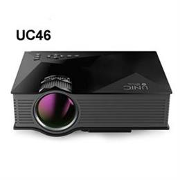 UC46 UC46+ Portable Mini LED Projector WIFI Wireless Miracast DLNA Airplay Home Video Game Proyector Beamer
