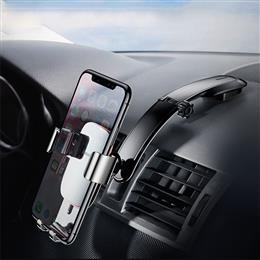 Metal Car Holder For iPhone X Samsung S9 Mobile Phone Holder Stand Gravity Air Vent Mount