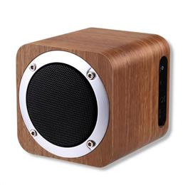 iLEPO i7 Wooden Wireless Speaker Bluetooth 4.0 with FM Radio 1800mAh Battery AUX