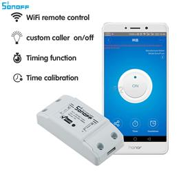 Sonoff Smart Home Wireless Remote Control Wifi Switch Diy Switch 220V Control Via Android IOS