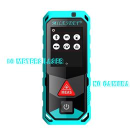 New 60M Bluetooth Laser Rangefinder with Rotary Touch Screen Rechargerable Laser Meter